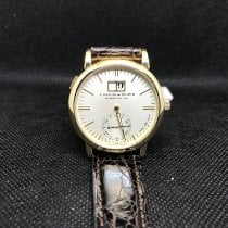 A. Lange & Söhne Langematik Yellow gold 37mm White