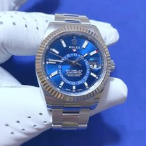 Rolex Sky-Dweller Steel 42mm Blue No numerals United States of America, Massachusetts, Quincy