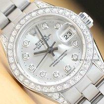 Rolex Lady-Datejust Сталь 26mm Cеребро