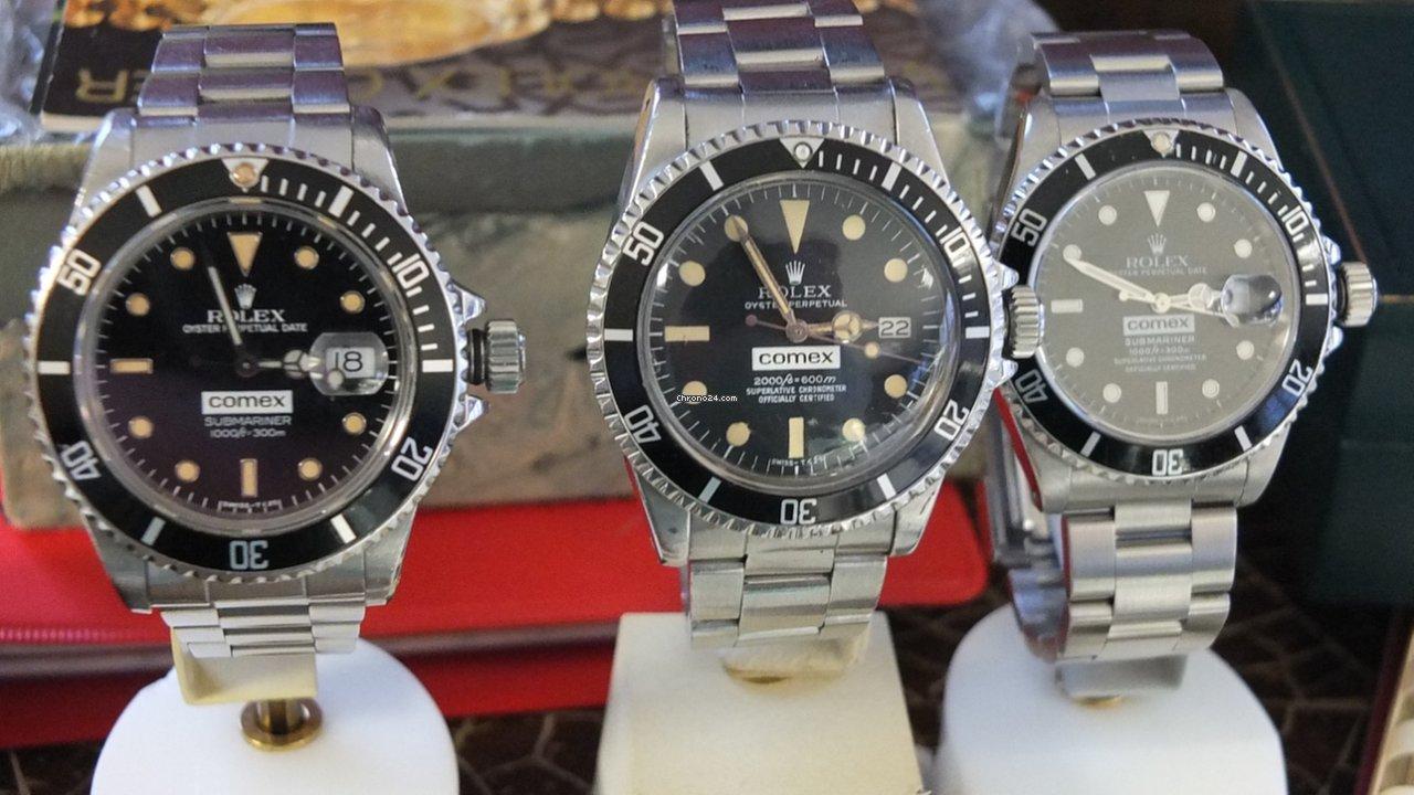 Rolex Submariner Date Comex 1665 & 16800 & 16610 . Besitz B & P 1979 gebraucht