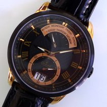 Charmex new Quartz Small Seconds Guilloche Dial Luminescent Hands Only Original Parts 43mm Steel Sapphire crystal