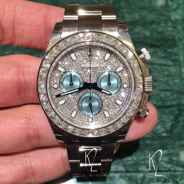 Rolex Cosmograph Daytona in Platinum \u0026 Diamond , 116576 TBR