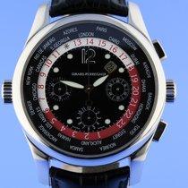 Girard Perregaux Platinum World Time Chronograph No.9