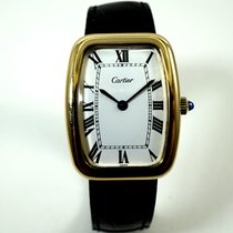Cartier Square Incurvee 18k rectangle shaped case c.1970's