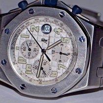 Audemars Piguet Royal Oak Offshore Chronograph occasion 42mm Argent Chronographe Date Tachymètre Acier