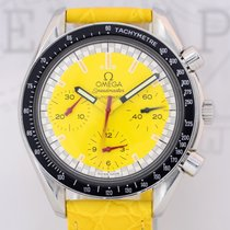 Omega Speedmaster Automatic Chronograph Michael Schumacher yellow