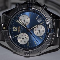 Breitling Colt Chronograph Steel 38mm Blue No numerals United States of America, New York, Greenvale
