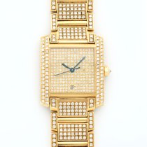 Cartier Tank Francaise 18K Solid Yellow Gold Diamonds