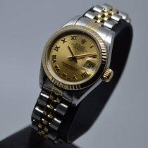 Ρολεξ (Rolex) Datejust 26mm Date Gold/Steel 79173 Roman FULL SET