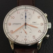 IWC Portuguese Chronograph stainless steel Full Set