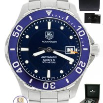 TAG Heuer Aquaracer Calibre 5 Automatic 40mm Stainless Blue...