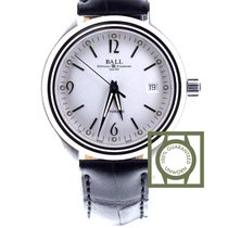 Ball Trainmaster Streamliner Automatic White Dial NM1060D-LJ-WH