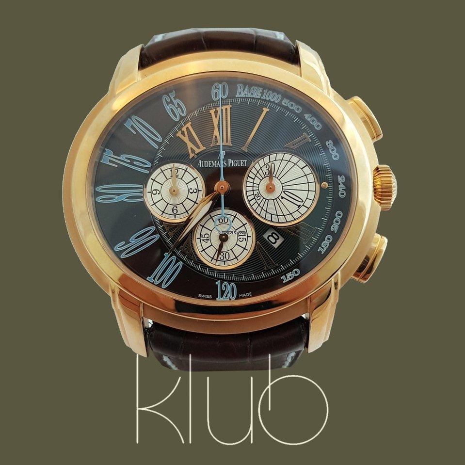 0f23cd9ead9 Comprar relógios Audemars Piguet Ouro rosa