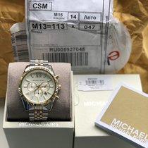 Michael Kors Steel 45mm Quartz MK8344 new