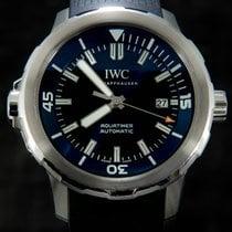 IWC 42mm Automatika použité Aquatimer Automatic Modrá