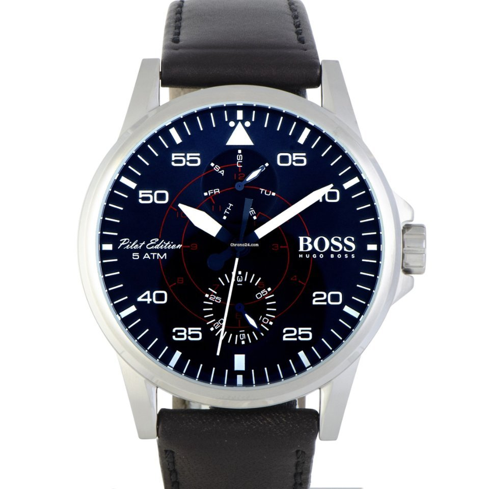 d33e97b25 Hugo Boss Aviator Casual Sport Men's Watch Blue 1513515 for Rp. 2,003,421  for sale from a Trusted Seller on Chrono24