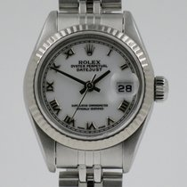 Rolex Lady-Datejust Goud/Staal 26mm Wit Arabisch Nederland, Nijmegen  (www.horloge-sieraden.nl)
