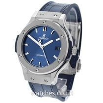 Hublot Classic Fusion Blue Titanium 38mm Blue United Kingdom, London