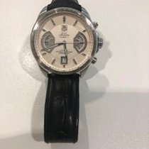 TAG Heuer Grand Carrera Staal 43mm Zilver
