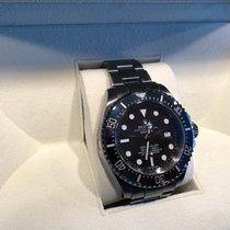 Rolex Sea-Dweller Deepsea Stahl 44mm Schwarz Keine Ziffern Deutschland, Pulheim