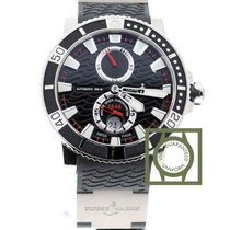 Ulysse Nardin Maxi Marine Diver Titanium 45mm Zwart Geen cijfers