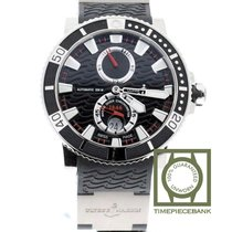 Ulysse Nardin Maxi Marine Diver Titane 45mm Noir Sans chiffres