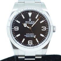 Rolex Explorer Steel 39mm Black Arabic numerals Singapore, Singapore