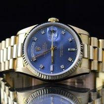 Rolex rabljen Automatika 36mm Plav-modar Safirno staklo