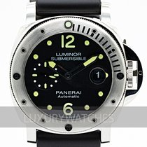 Panerai Luminor Submersible Zeljezo 44mm Crn