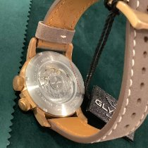 Glycine Bronze Automatic Brown No numerals 44mm new Airman
