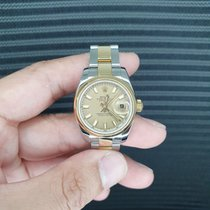 Rolex Lady-Datejust 179163 New Gold/Steel 26mm Automatic Singapore, Singapore