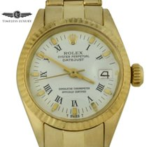 Rolex Oyster Perpetual Lady Date Yellow gold 26mm White Roman numerals United States of America, Georgia, Atlanta