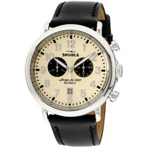 Shinola Steel 47mm Quartz S0120161939 new United States of America, New Jersey, Somerset