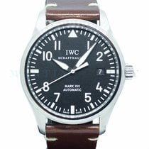 IWC pre-owned Automatic 39mm Black Sapphire crystal 6 ATM