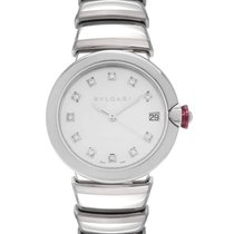 Bulgari Lucea Steel 33mm Mother of pearl United States of America, New Jersey, Cresskill
