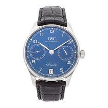 IWC Portuguese Automatic Steel 42.3mm Blue Arabic numerals