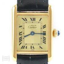 Cartier Tank Vermeil Srebro 20mm Masa perłowa