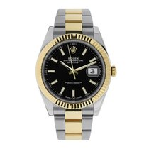 Rolex Datejust 41mm Steel & 18K Yellow Gold Oyster Bracelet...