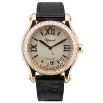 Chopard Happy Sport 274808-5006 Ny Rosa guld 36mm Automatisk