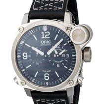 Oris BC4 Flight Timer GMT Men's Watch 690-7615-4164LS