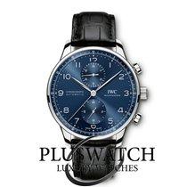 IWC Portuguese Chronograph Steel 40,9mm Blue Arabic numerals