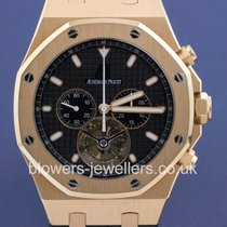 Audemars Piguet Rose gold Automatic pre-owned Royal Oak Tourbillon