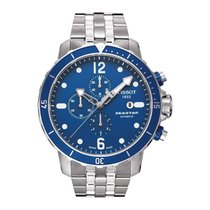 Tissot Seastar Mens Swiss Automatic Chrono Watch T066.427.11.0...