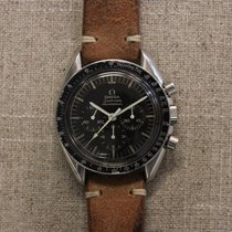 Omega Chronograph 42mm Manual winding 1969 pre-owned Speedmaster (Submodel) Brown