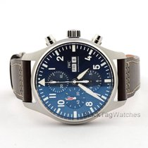 IWC Pilot Chronograph Steel 43mm Blue Arabic numerals United States of America, Florida, Aventura