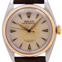 Rolex Bubble Back Gold/Steel 34mm White United States of America, California, West Hollywood