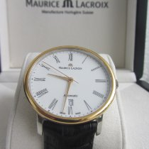Maurice Lacroix Les Classiques Tradition Goud/Staal 38mm Wit Romeins