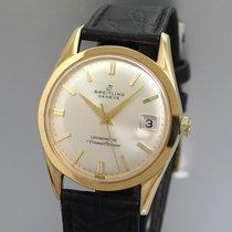 Breitling Transocean Chronograph Gelbgold 34mm Silber Deutschland, Pfungstadt