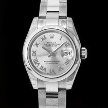 Rolex Lady-Datejust Srebrny