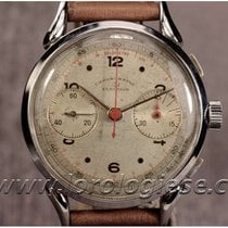 Election Witgoud 38mm Chronograaf tweedehands